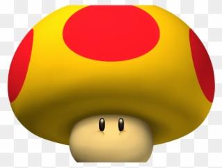 Nintendo Clipart Mario Mushroom Mario Big Mushroom Png