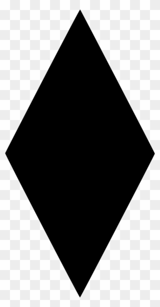 Diamond black. Free png clip art