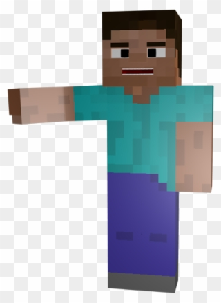 Minecraft Holding Hand Out Minecraft Steve Transparent Clipart Full Size Clipart 4238436 Pinclipart