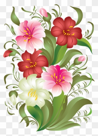 Free Png August Flowers Clip Art Download Pinclipart