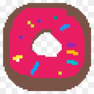 Exclamation Point Pixel Art Donuts Facile Clipart Full