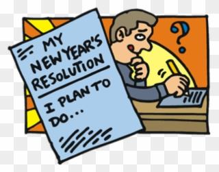 Image result for New Years resolutions free clip art