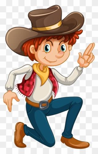 72619f67220 Wild West - Cowboy Clip Art No Background - Png Download