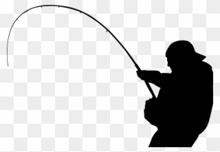 Download Fishing Tackle Silhouette Angling Walleye Fishing Silhouette Png Clipart Full Size Clipart 482949 Pinclipart