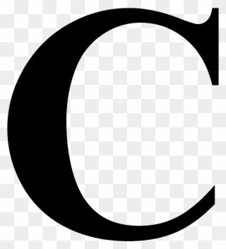 Letter C - Letter C Transparent Background Clipart ...