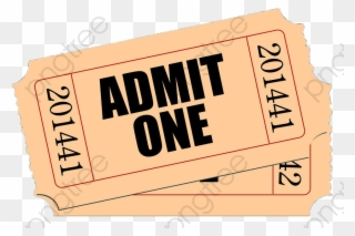 Amc Movie Ticket You Will Receive $1 - Food Clipart (#2528255) - PikPng
