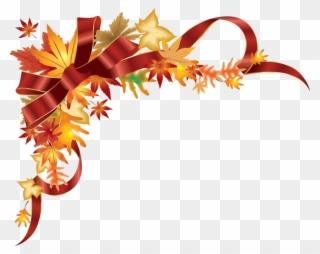 Clipart Gratuit Vendanges Transparent Background Thanksgiving Border Png Download 490597 Pinclipart