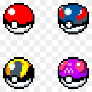 Pokemon Ultra Ball Pixel Art Clipart Full Size Clipart