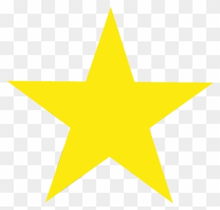 Star clear background. Druthers clipart yellow transparent