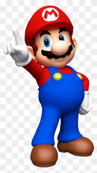 Mario Cake Topper Mario Bros Clipart 525297 Pinclipart