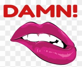 Biting my tongue. - Drawception