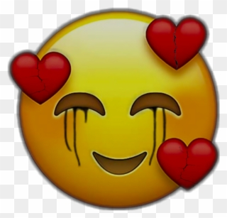 15 Sad Face Emoji Download Heart Emoji Black Red Heart Sad Face Clipart Full Size Clipart 1980250 Pinclipart