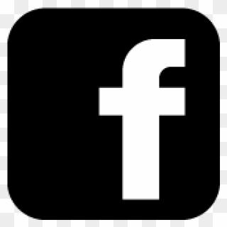 Icon black background facebook Facebook icons