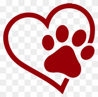 Free Png Paw Print Heart Clip Art Download Pinclipart Here you can explore hq dog paw transparent illustrations, icons and clipart with filter setting like size, type, color etc. free png paw print heart clip art