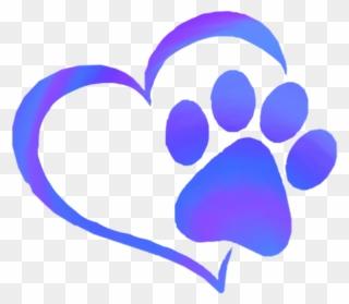 Free Png Paw Print Heart Clip Art Download Pinclipart Brown tabby cat, cat dog kitten pet sitting, the waving cat, animals. free png paw print heart clip art