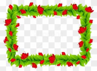 Free Png Flower Border Frame Clip Art Download Pinclipart