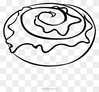 Clipart Cinnamon Roll Frame   Free Images at Clker.com - vector clip art  online, royalty free & public domain