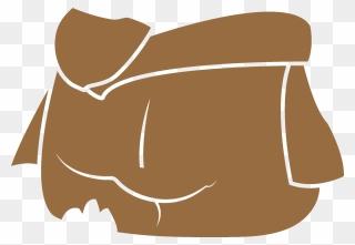 Layered Baby Yoda Svg Clipart 5695682 Pinclipart