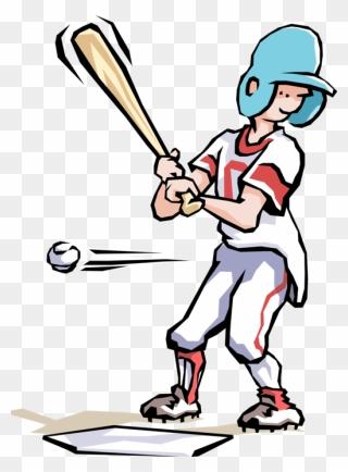 Clip Art Kid Baseball Player Clipart - Cute Baseball Player Clipart, HD Png  Download , Transparent Png Image - PNGitem