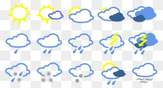Premium Vector Clipart Kawaii Weather Clipart Kawaii   Etsy   Kawaii weather,  Kawaii clipart, Kawaii stickers
