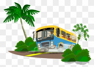 Free Png Bus Clip Art Download Pinclipart