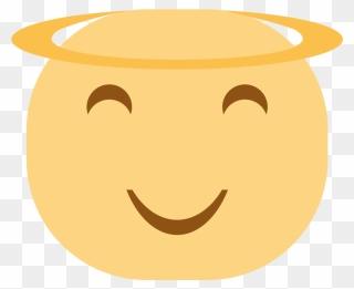 Black angel icon - Free black emoticon icons