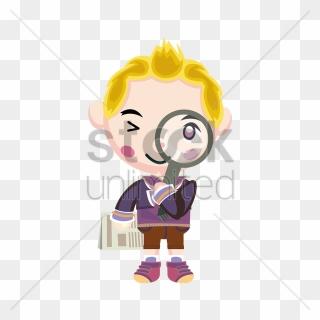 Paper Clipart Boy - Newspaper Boy Clip Art - Png Download (#237841) -  PinClipart