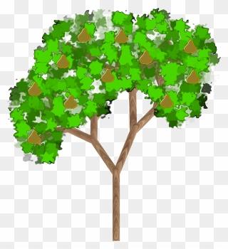 Blue Plum Tree Vector Illustration Damsons Fruit Tree Plant Flat Vector  Color Illustration Clipart Ripe Prunus On A Tree Stock Illustration -  Download Image Now - iStock