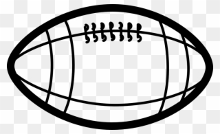 Football Clipart Vertical Football Clipart Black And White Png Download Full Size Clipart 65973 Pinclipart