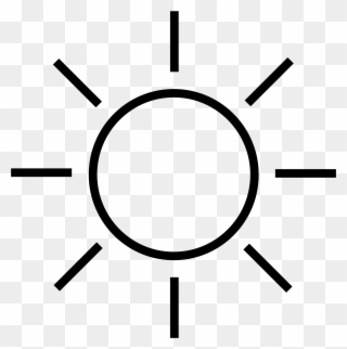 Free Sun Clipart Black and White Pictures - Clipartix