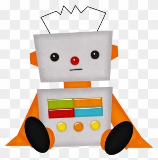 Free Png Cute Robot Clip Art Download Pinclipart