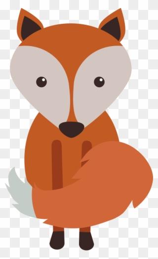 Fox woodland. Free png clip art