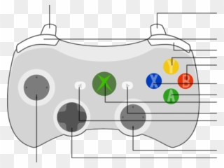 Remarkable Xbox 360 Controller Silhouette Clip Art At Clker Xbox One Wiring Digital Resources Remcakbiperorg