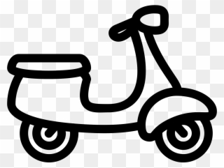 Vector Formatting Motorcycle Outline Picture Free Stock Black And