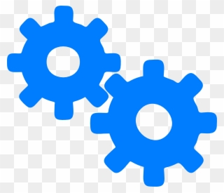 Clipart Royalty Free Stock Gear Blue Clip Art Blue Gears Clip Art Png Download 81271 Pinclipart