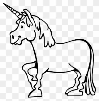 Unicorn 5 Vectorized Firkin Dibujos Unicornios Para Pintar Clipart