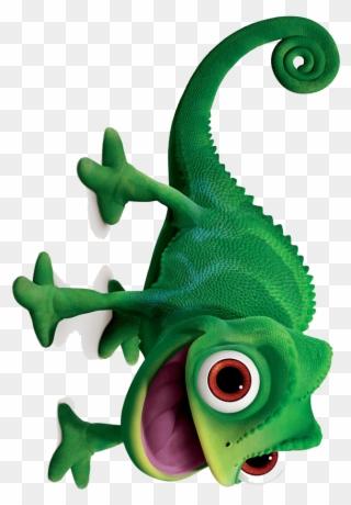 Lizard Clipart Rapunzel - Tangled Chameleon No Background ...