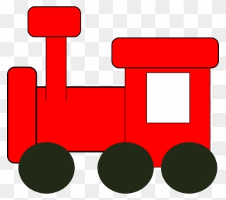 ab91b36e3c38 Red Train Clip Art - Red Toy Train Clipart - Png Download