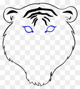 Save Tiger Easy Drawing Clipart 1183370 Pinclipart